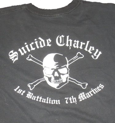 Suicide Charley Long Sleeve T-Shirt X-Large (Black)