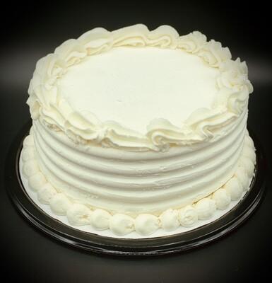 Vanilla Lovers Ice Cream Cake