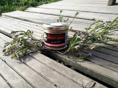 Terrine de rouget au piment d'Espelette bio- pêche locale