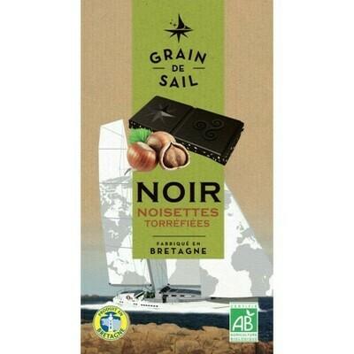 Chocolat noir noisette transformé localement Bio