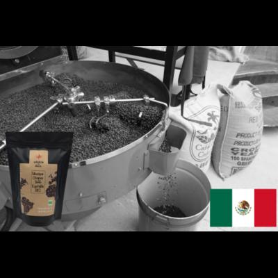 Café moulu du Mexique, artisan local bio