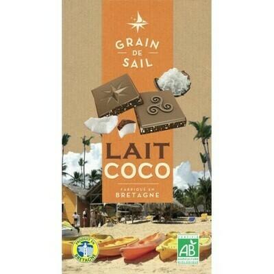 Chocolat au lait & coco transformé localement bio