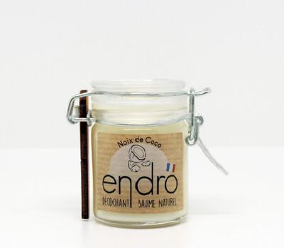 Déodorant naturel baume à la noix de coco bio