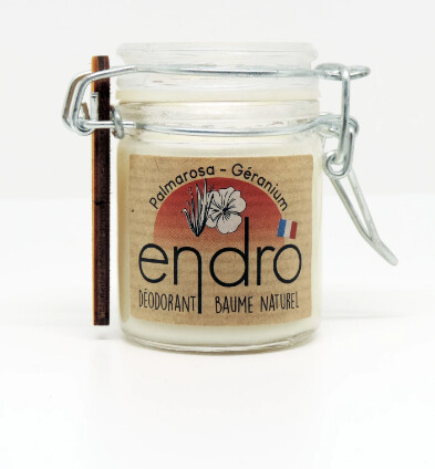 Déodorant naturel palmarosa géranium