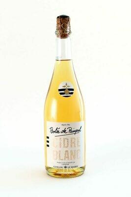 Cidre blanc cidrerie Guillou Le Marec 75l