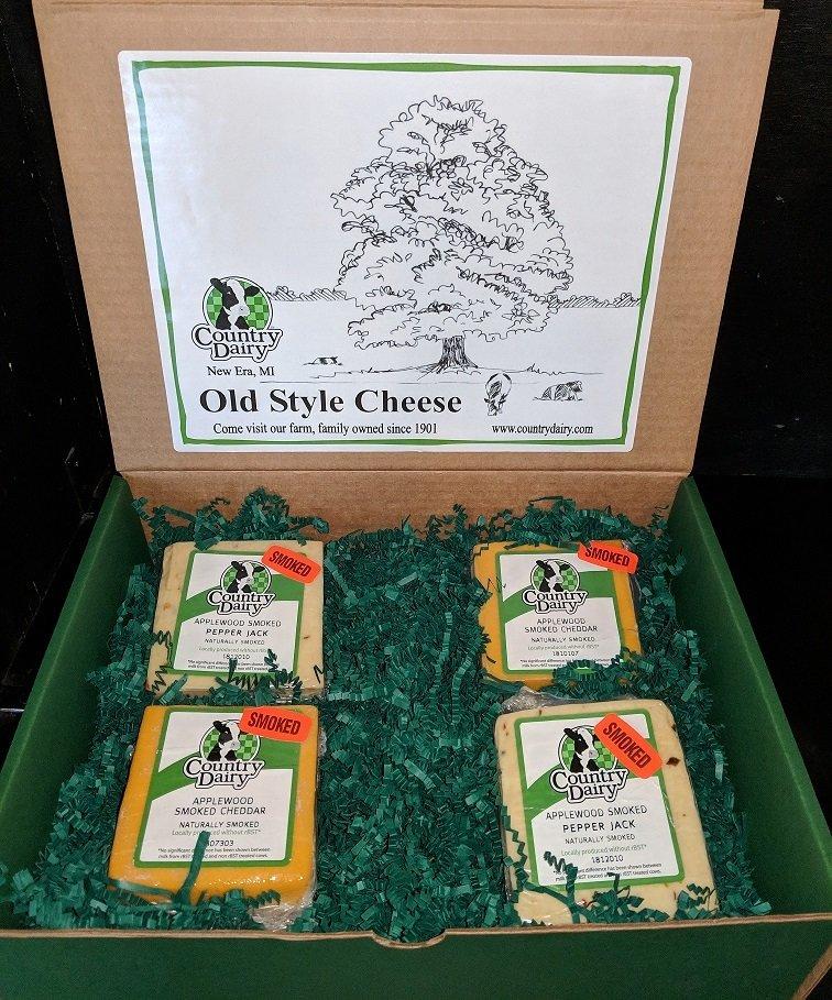 2 lb. Applewood Smoked Cheese Box