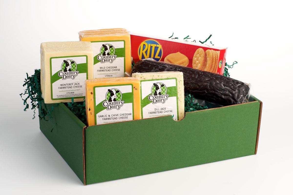 3 lb. Cheese & Sausage Box