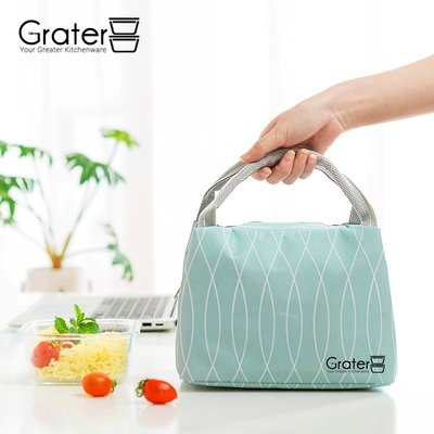 Japanese Canvas Thermal Lunch Bag / Cooler Bag
