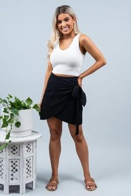 Shell Skirt - Black