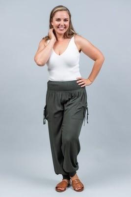 Harem Pants - Khaki