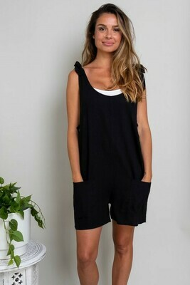Play All Day Playsuit - Black