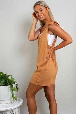 Play All Day Playsuit - Rust