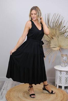 Wild One Maxi Dress - Black