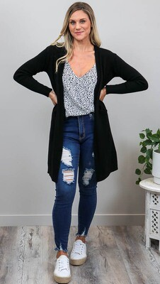 Billy GoGo Luxe Cardigan - Black