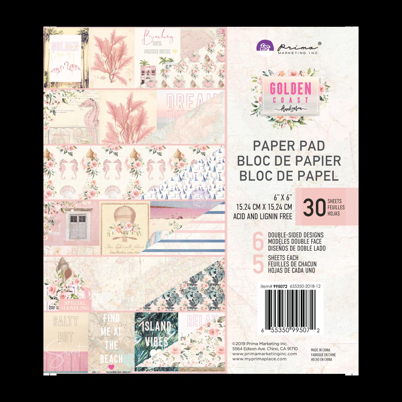 Golden Coast 6x6 Paper Pad