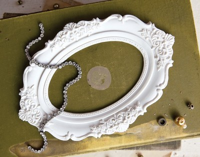 Memory Hardware Resin Frames- Chantilly Royal frame
