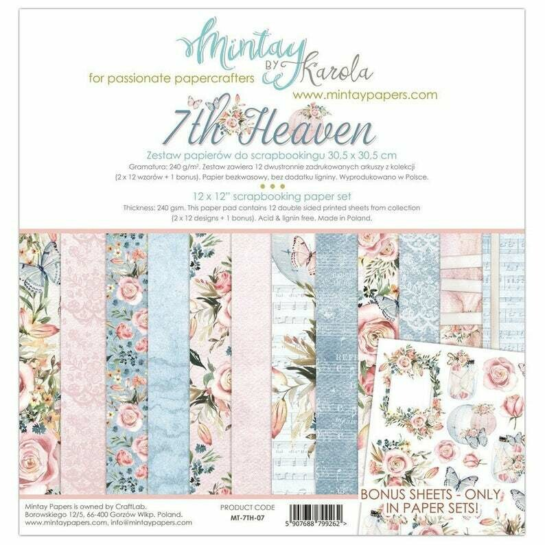 Mintay by Karola - 7th Heaven - 12 x 12 Collection Pack