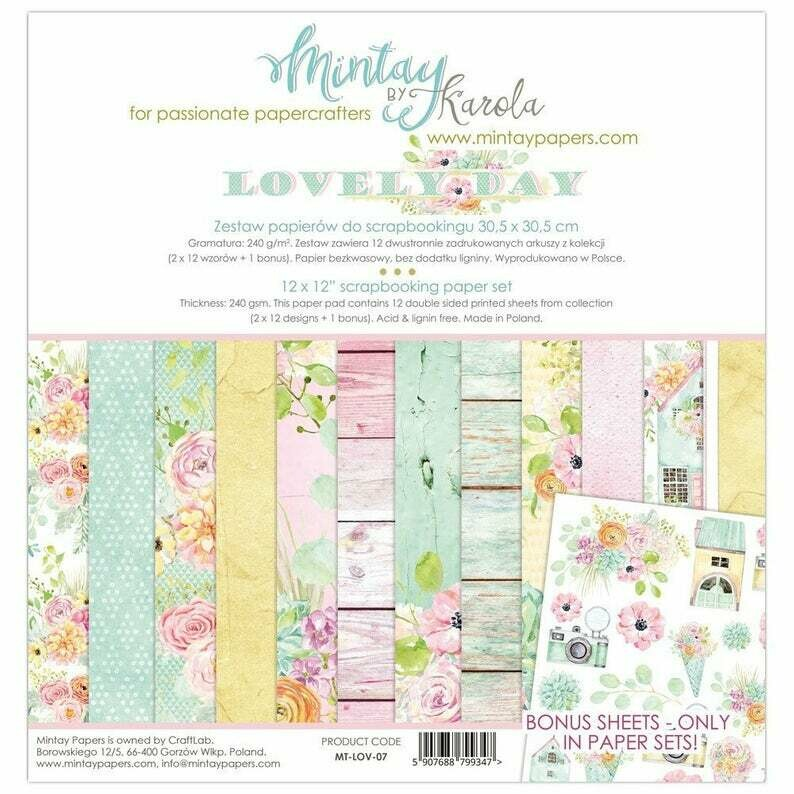 Mintay by Karola - Lovely Day - 12 x 12 Collection Pack