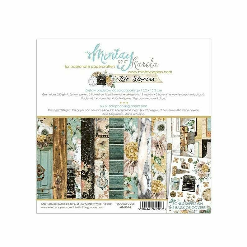 Mintay by Karola - Life Stories - 6 x 6 Collection Pack