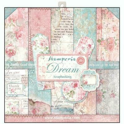 Stamperia Dream - 12 x 12 Paper Pad