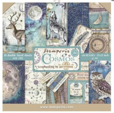 Stamperia Cosmos - 12 x 12 Paper Pad