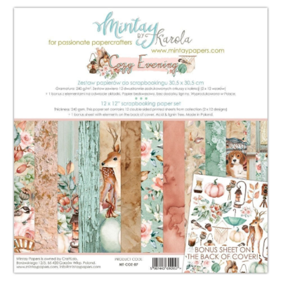 Mintay by Karola - Cozy Evening - 12 x 12 Collection Pack
