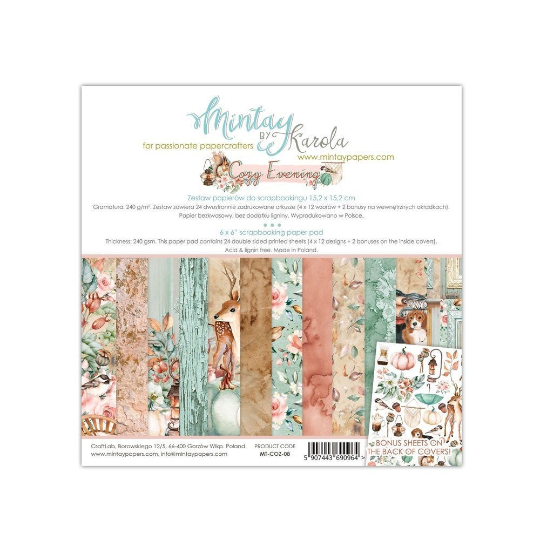 Mintay by Karola - Cozy Evening - 6 x 6 Collection Pack