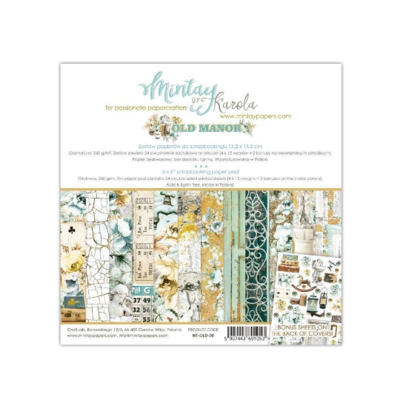 Mintay by Karola - Old Manor - 6 x 6 Collection Pack