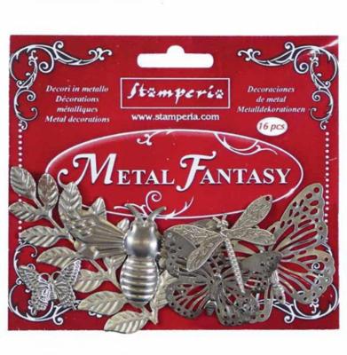 Nature - Metal Fantasy Selection -Stamperia Embellishments