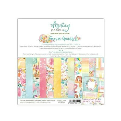Mintay by Karola - Forever Young - 6 x 6 Collection Pack