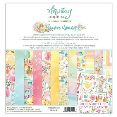 Mintay by Karola - Forever Young - 12 x 12 Collection Pack