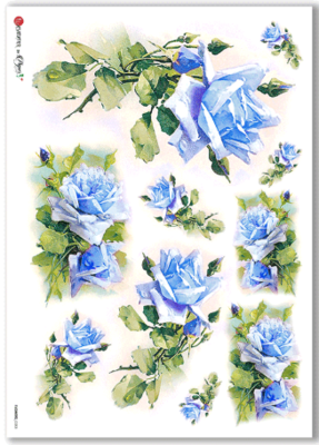 Flowers - 0283 - A4 Rice Paper - Paper Designs
