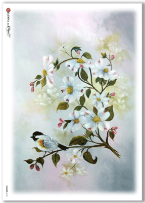 Flowers - 0165 - A4 Rice Paper - Paper Designs