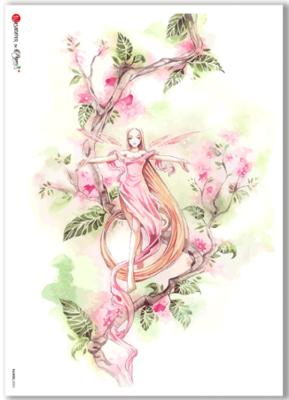 Fairies-0052 - A4 Rice Paper - Paper Designs