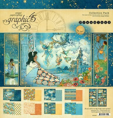 Dreamland Collection - 12x12 Collection Pack w/ Stickers - Graphic 45