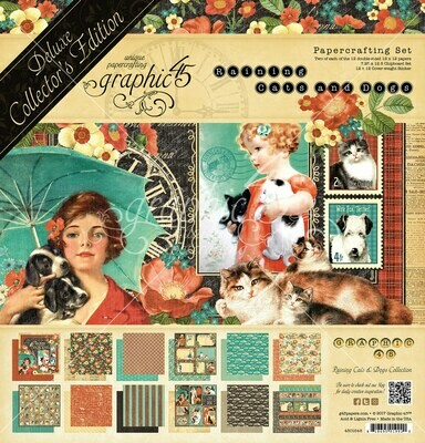 Raining Cats and Dogs - Deluxe Collector's Edition - Graphic 45