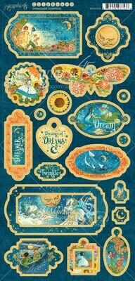 Dreamland Decorative Chipboard - Dreamland Collection - Graphic 45