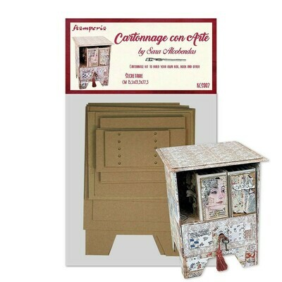 Secretaire - Cartonnage Kit - Stamperia