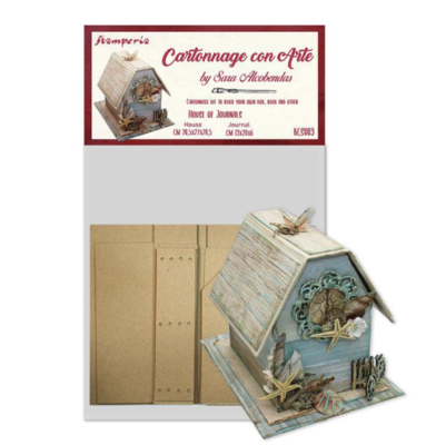 House of Journal - Cartonnage Kit - Stamperia