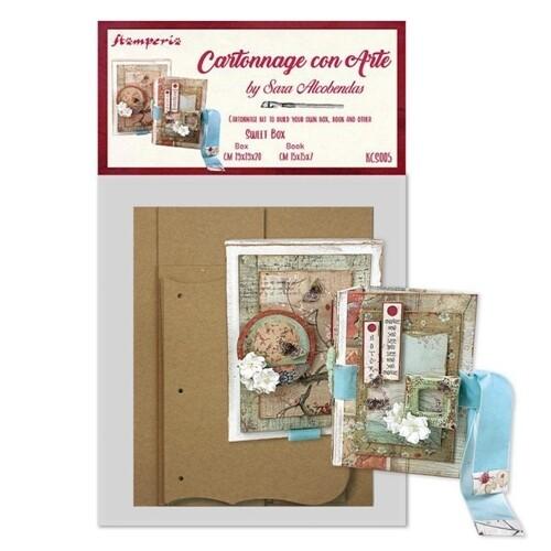 Sweet Box - Cartonnage Kit - Stamperia