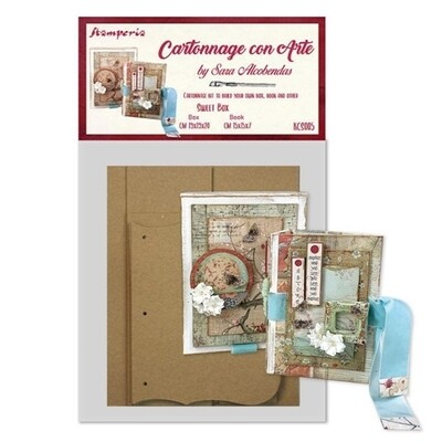 Sweet Box - Cartonnage Kit - Stamperia