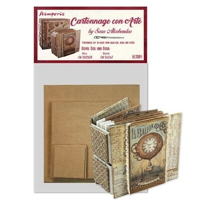 Royal Box and Book - Cartonnage Kit - Stamperia