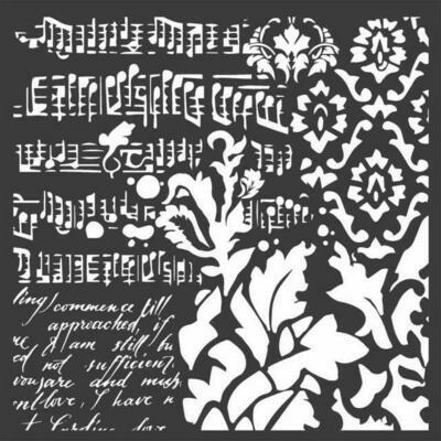 Wallpaper Fantasy - Thick Media Stencil -Stamperia