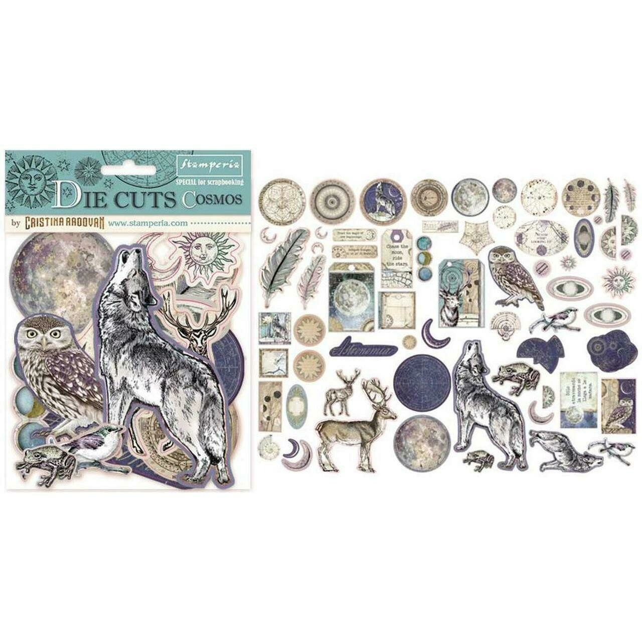 Cosmos Die Cut Assortment - Stamperia