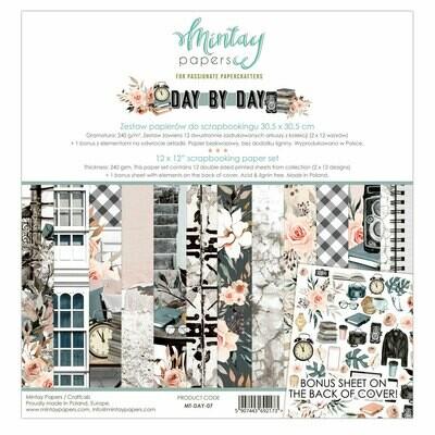 Day by Day 12x12 - Mintay by Karola