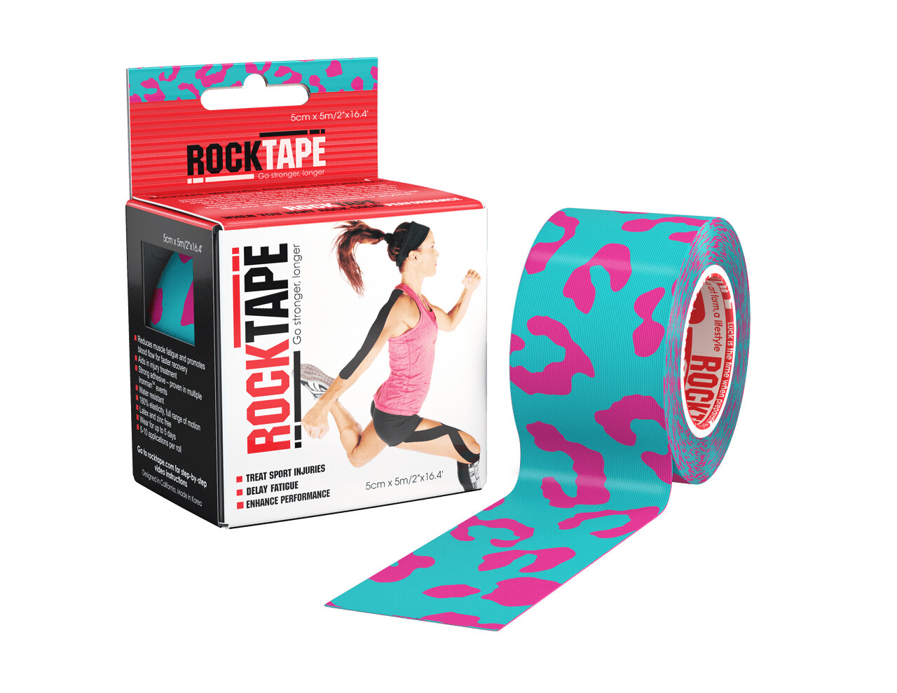 RockTape, 5см×5м, Miami Katz