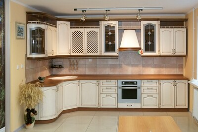 Кухня   Ясень   Белый   Арка