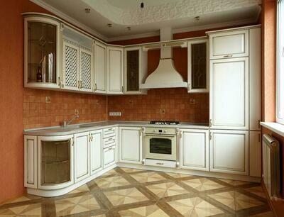Кухня   Ясень   Млечный   Квадро