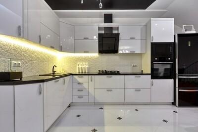 Кухня | Акрил | Lemark | Белый