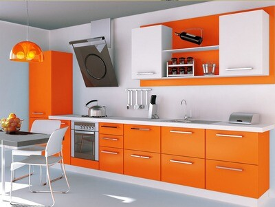 Кухня | Пластик | Arpa | Оранжевый